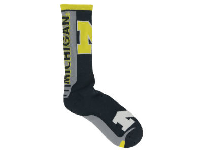 Michigan State Spartans Jump Key Curve Sock