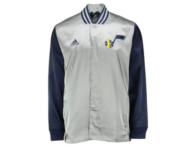 Utah Jazz adidas NBA Men's 2nd Half On Court Jacket