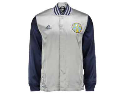 Denver Nuggets adidas NBA Men's 2nd Half On Court Jacket