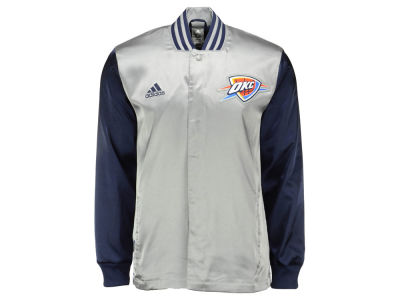 Oklahoma City Thunder adidas NBA Men's 2nd Half On Court Jacket