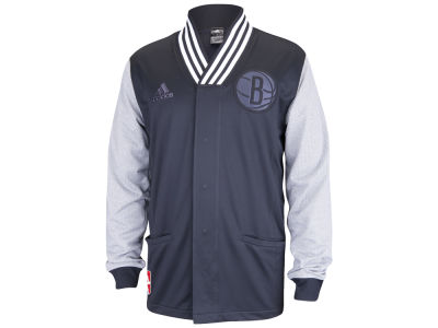 Brooklyn Nets adidas NBA Men's Faster Warm Up Jacket