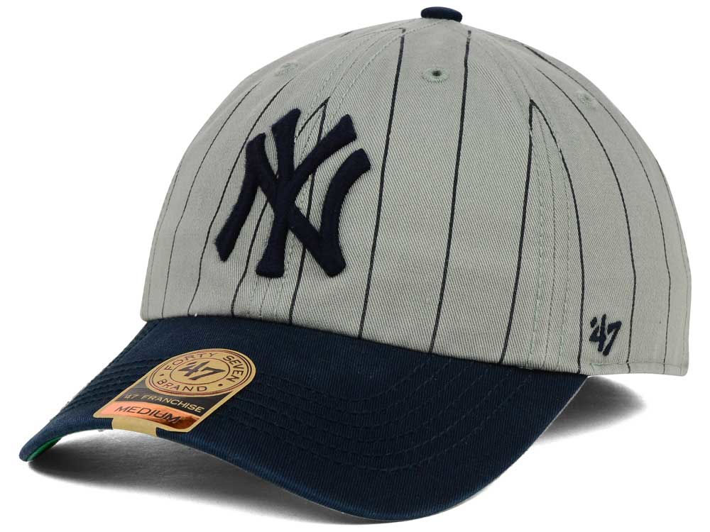 New York Yankees  47 MLB Pinstripe 47 FRANCHISE Cap  dd2c8f1e02a