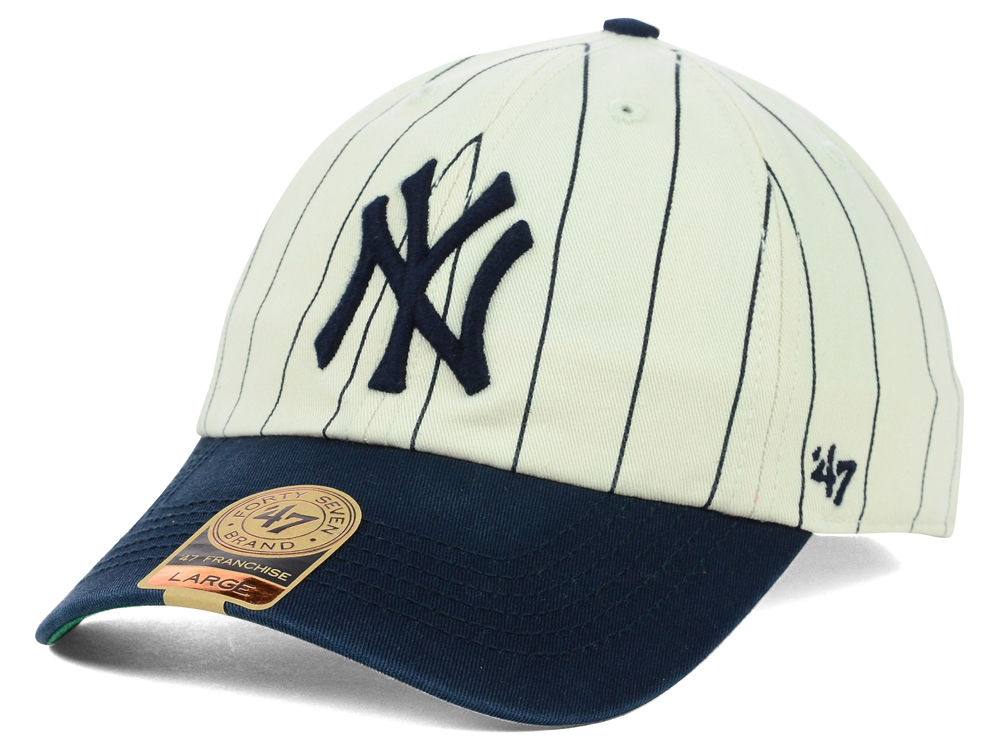 New York Yankees  47 MLB Pinstripe 47 FRANCHISE Cap  81d538dcbd8