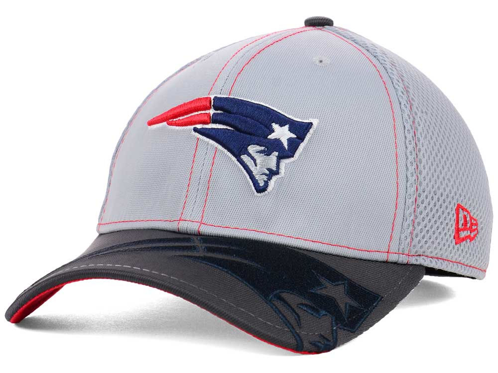 e1c16c7b New England Patriots New Era NFL Logo Crop Neo 39THIRTY Cap