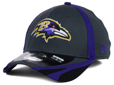 Baltimore Ravens New Era NFL 2014 Graphite Training 39THIRTY XP Cap