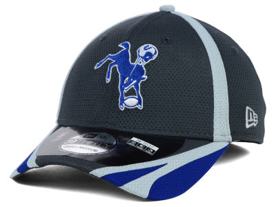 Indianapolis Colts New Era NFL 2014 Graphite Training 39THIRTY Cap