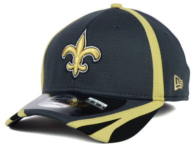 New Orleans Saints New Era NFL 2014 Graphite Training 39THIRTY XP Cap