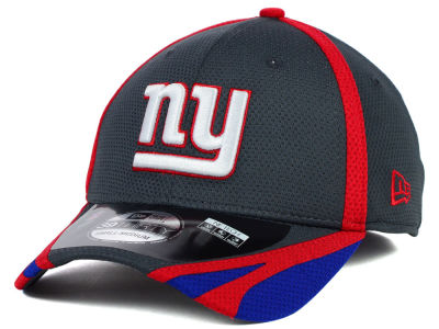 New York Giants New Era NFL 2014 Graphite Training 39THIRTY XP Cap