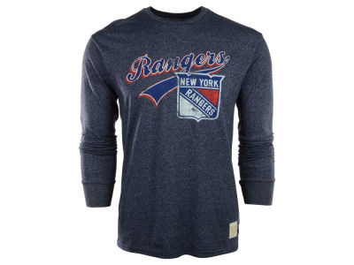 New York Rangers NHL Mock Twist Long Sleeve T-Shirt