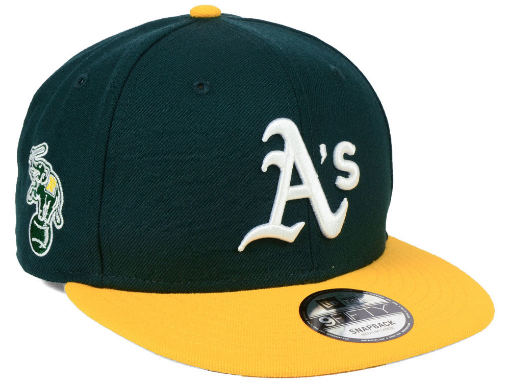 Oakland Athletics New Era MLB 2 Tone Link 9FIFTY Snapback Cap  8f5d5e5df79