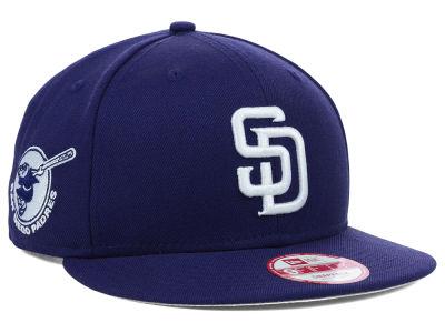 half off 353c6 0efcb San Diego Padres New Era MLB 2 Tone Link 9FIFTY Snapback Cap