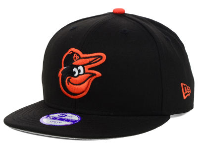 Baltimore Orioles New Era MLB Youth Major Wool 9FIFTY Snapback Cap