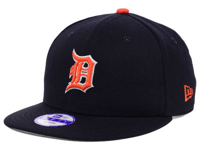 Detroit Tigers New Era MLB Youth Major Wool 9FIFTY Snapback Cap