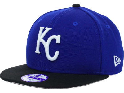 Kansas City Royals New Era MLB Youth Major Wool 9FIFTY Snapback Cap