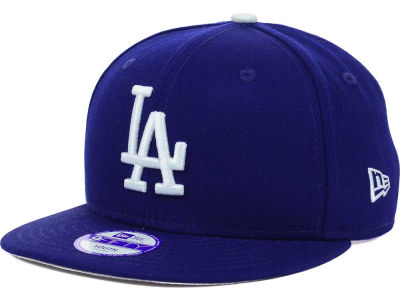 Los Angeles Dodgers New Era MLB Youth Major Wool 9FIFTY Snapback Cap