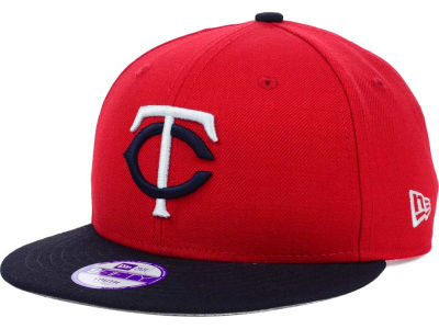 Minnesota Twins New Era MLB Youth Major Wool 9FIFTY Snapback Cap