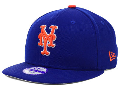 New York Mets New Era MLB Youth Major Wool 9FIFTY Snapback Cap