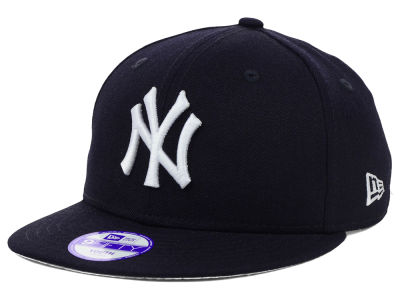 New York Yankees New Era MLB Youth Major Wool 9FIFTY Snapback Cap