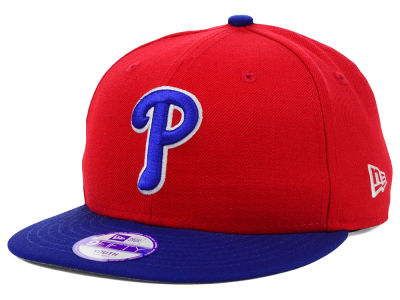 Philadelphia Phillies New Era MLB Youth Major Wool 9FIFTY Snapback Cap