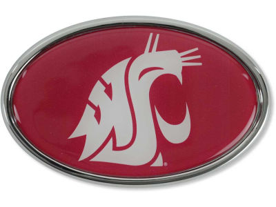Washington State Cougars Stockdale Metal Auto Emblem