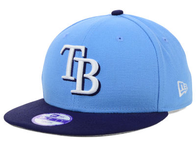 Tampa Bay Rays New Era MLB Youth Major Wool 9FIFTY Snapback Cap