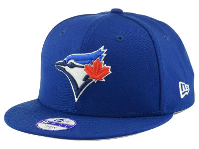 Toronto Blue Jays New Era MLB Youth Major Wool 9FIFTY Snapback Cap