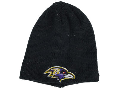 Baltimore Ravens New Era NFL Womens Glistener Knit