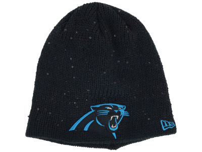 Carolina Panthers New Era NFL Womens Glistener Knit