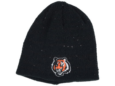 Cincinnati Bengals New Era NFL Womens Glistener Knit