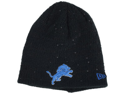Detroit Lions New Era NFL Womens Glistener Knit