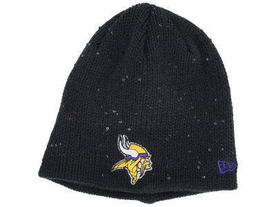 Minnesota Vikings New Era NFL Womens Glistener Knit
