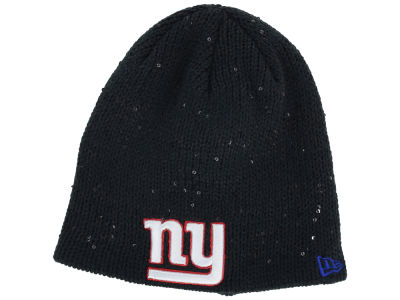 New York Giants New Era NFL Womens Glistener Knit