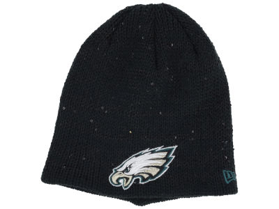 Philadelphia Eagles New Era NFL Womens Glistener Knit