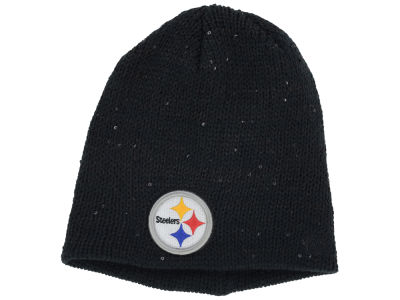 Pittsburgh Steelers New Era NFL Womens Glistener Knit