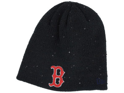 Boston Red Sox New Era MLB Womens Glistener Knit