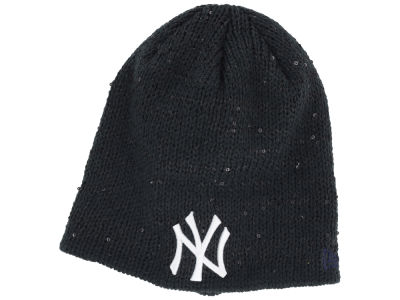New York Yankees New Era MLB Womens Glistener Knit