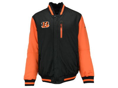 Cincinnati Bengals NFL Men's takeover Padded Defense Jacket