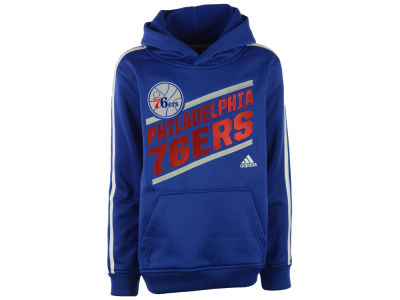 Philadelphia 76ers NBA Youth Playbook Stripe Hoodie