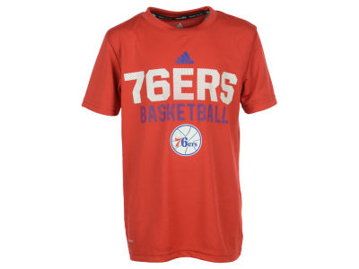 Philadelphia 76ers NBA Youth Beta Rays Climalite T-Shirt