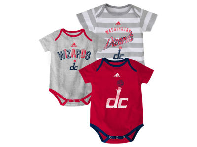Washington Wizards NBA Infant 3 Point Play Bodysuit Set