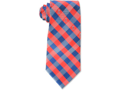 Los Angeles Angels Polyester Checked Tie