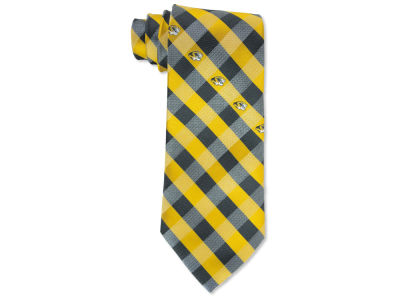 Missouri Tigers Polyester Checked Tie