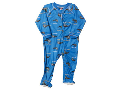 Orlando Magic NBA Newborn Piped Raglan Zip Up Coverall