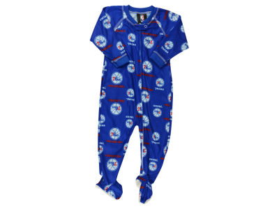 Philadelphia 76ers NBA Infant Piped Raglan Zip Up Coverall