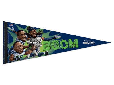 Seattle Seahawks 12x30 Premium Player Pennant