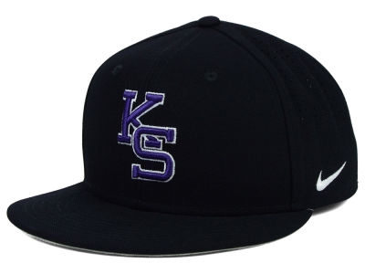 Kansas State Wildcats Nike NCAA Authentic Vapor Fitted Cap