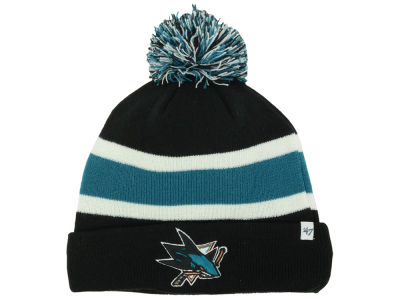 San Jose Sharks '47 NHL Breakaway Pom Knit