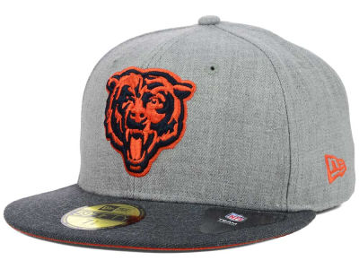 Chicago Bears New Era NFL Heather 2 Tone 59FIFTY Cap
