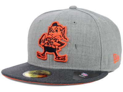Cleveland Browns New Era NFL Heather 2 Tone 59FIFTY Cap