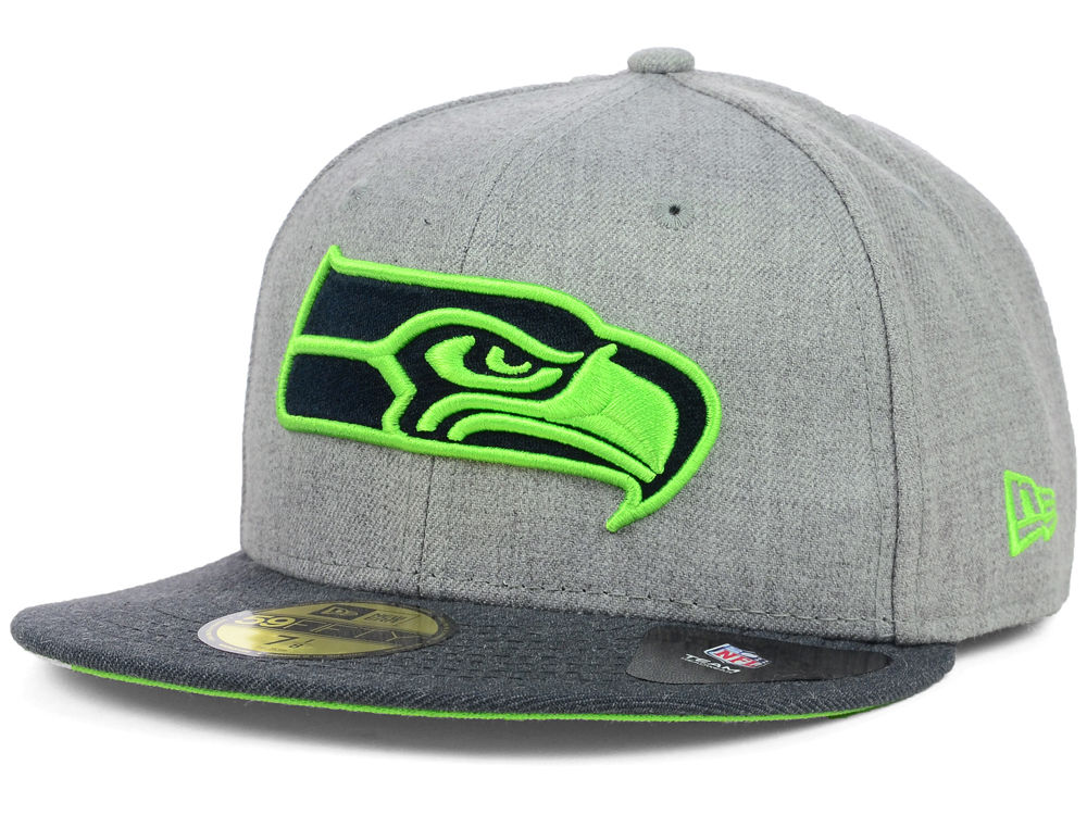 online retailer c1a4c b4f55 ... black for men 6f801 d5749  greece seattle seahawks new era nfl heather  2 tone 59fifty cap f8568 4abac
